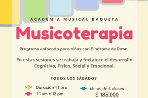 Musicoterapia y Síndrome de Down