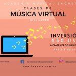CLASES DE MÚSICA VIRTUALES INTERNACIONALES