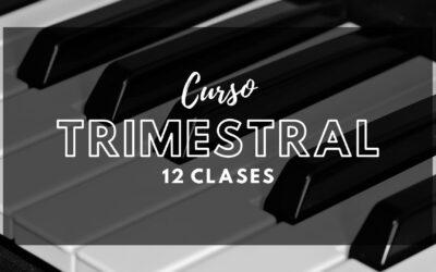 CURSO TRIMESTRAL